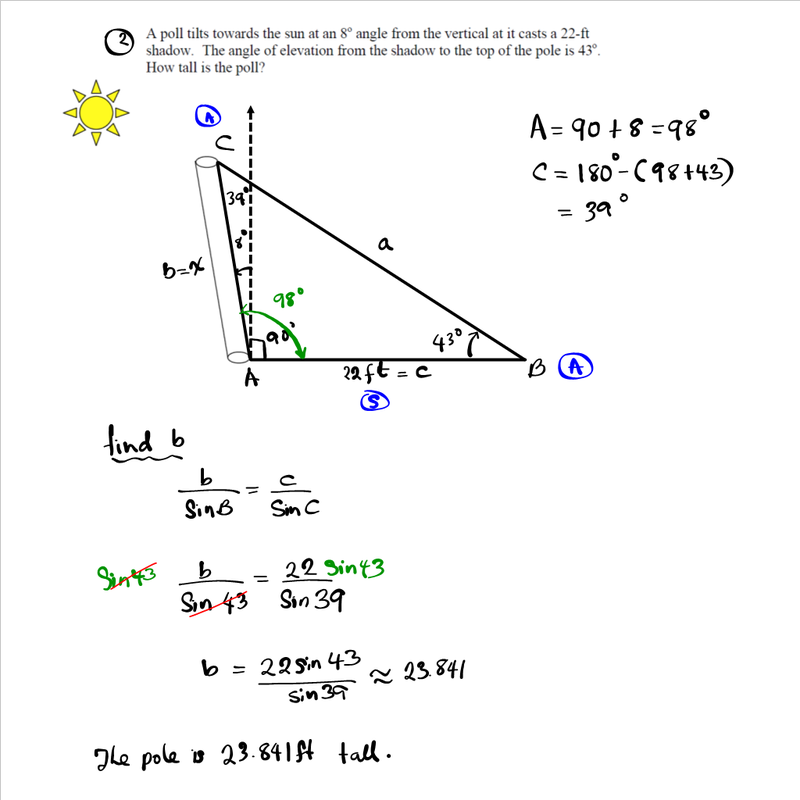 Application of the Law of Sines and Cosines MATHGOTSERVED – Law of Sine and Cosine Worksheet